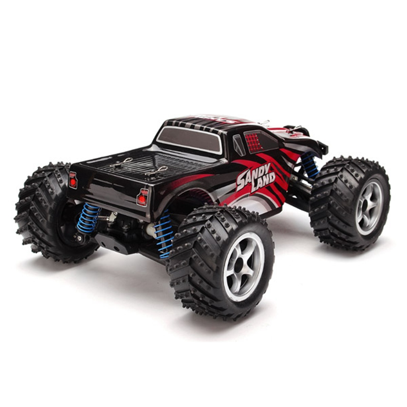 pxtoys 118 24g 4wd sandy land monster truck hj209131 remote control rc car gift for children kids