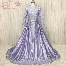 SuperKimJo Muslim Arabic Prom Dresses 2018 Vestido De Festa