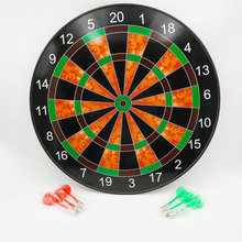 12'' 15'' 17'' Inches  Magnetic dart board with Safe Magnetic Darts home Outdoor soft Dart Board Game for Kids Adults training A 1set archery eva dart boards protector surround 18 inches indoor dart game accessory