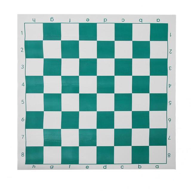 Ensemble d'échecs Portable en plastique voyage International échecs ultraléger jeu d'échecs avec grand sac en toile jeux d'échecs sac d'échecs 4