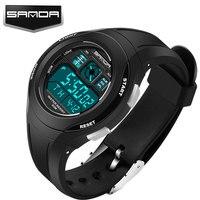 SANDA LED Digital Watch Children 2016 Sport Wrist Watches Kids Famous Brand Digital Watch Girls Boys