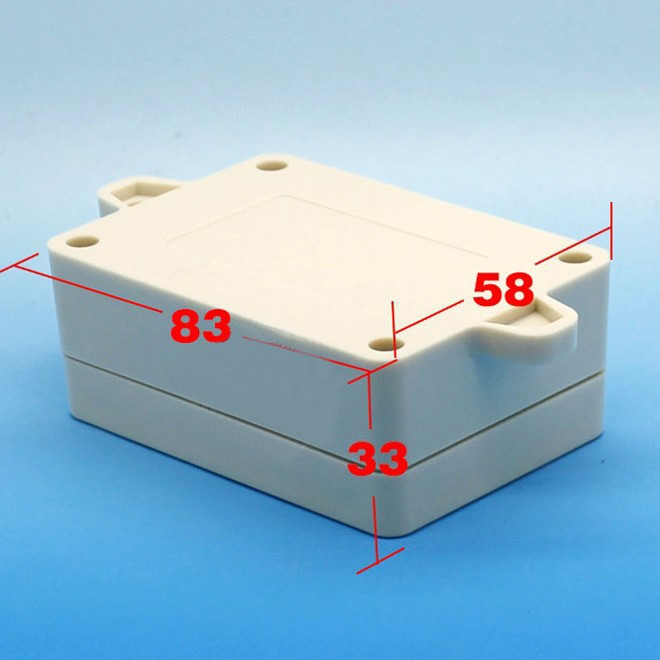 waterproof Plastic Enclosure Project Box 83*58*33mm electronics case Instrument Electrical Enclosure DIY NEW 1 piece free shipping electrical box case project electric distribution box desktop enclosure 210x104x44mm