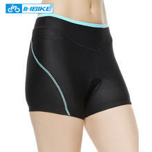 INBIKE Women Shorts Cycling Shorts culotte ciclismo Mountain Bike Underwear Padded Bicyle Cube Shorts bicicleta bisiklet TM1709W