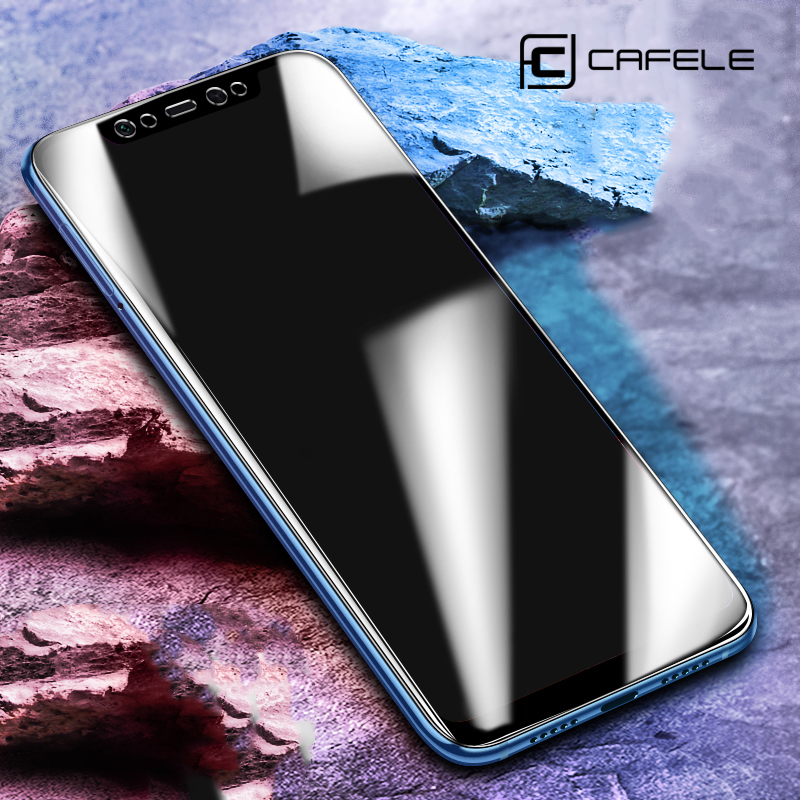 cafele hd clear ultra-thin tempered glass screen protector for xiaomi mi 8 phones