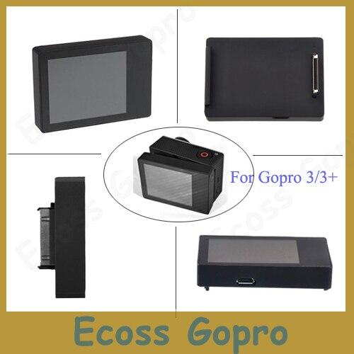 Suptig for gopro Hero 4 3+ 3 LCD BacPac display screen for Accessories Gopro hero3 Hero  ...