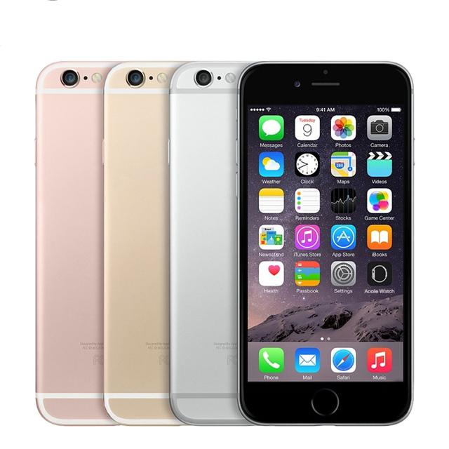 Original Unlocked Apple iPhone 6S Smartphone 4.7″ IOS Dual Core A9  16/64/128GB ROM 2GB RAM 12.0MP 4G LTE IOS Mobile Phone
