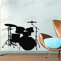 Стена наклейки и стена декор пвх материал на обои росписи музыка барабаны J-53