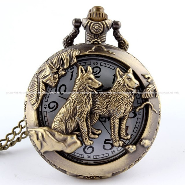 Fullmetal Alchemist Pocket Watch Necklace