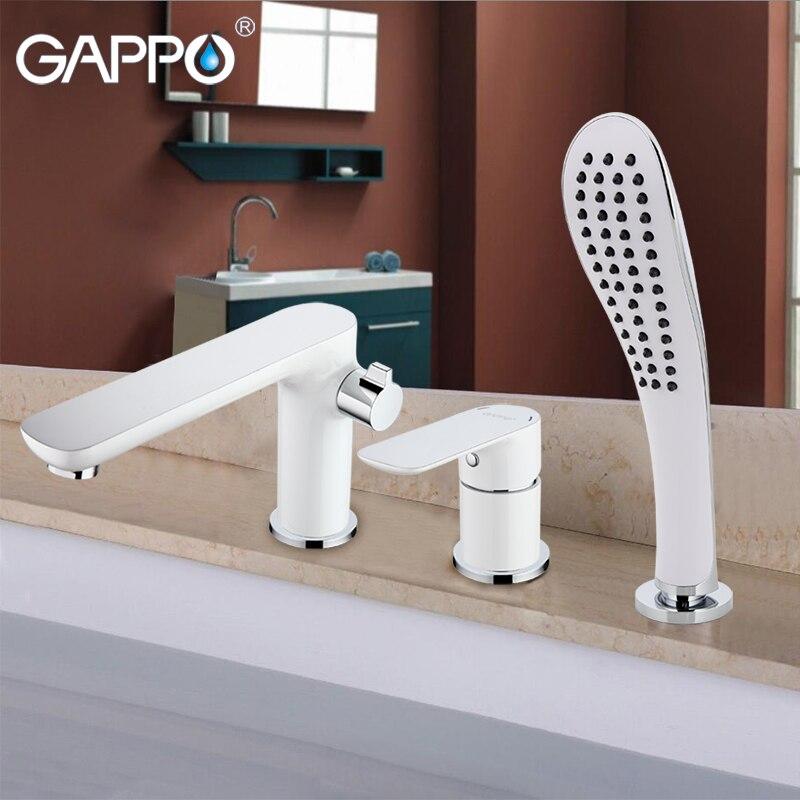 GAPPO ванна кран для ванной смеситель для душа водопад настенный набор для душа ванная душ кран смеситель для ванной комнаты torneira grifo duchaGA1148