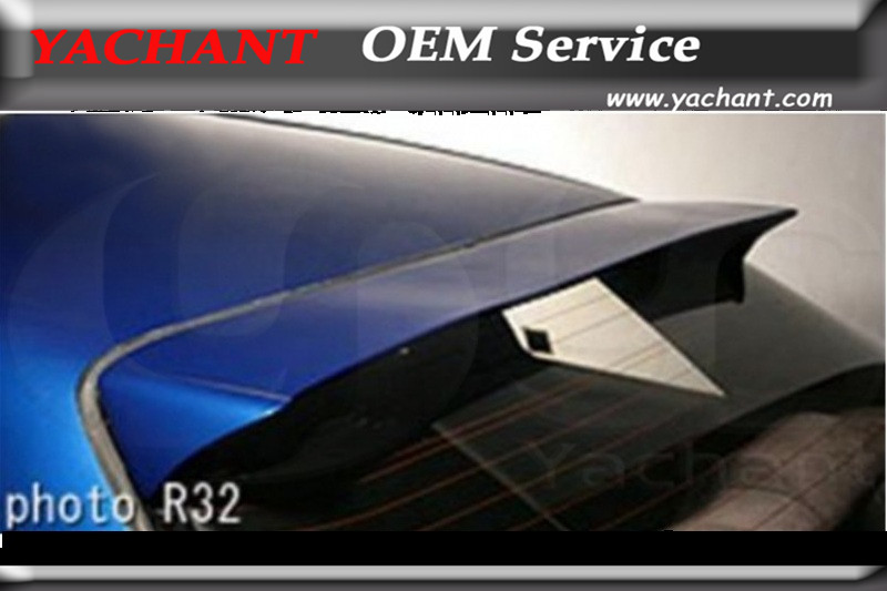 Car-Styling FRP Fiber Glass Rear Roof Spoiler Fit For 1989-1994 Skyline R32 GTS GTR Dmax Style Rear Roof Spoiler adjustable folding extendable brake clutch lever for moto guzzi norge 1200 gt8v 1200 sport stelvio cnc free shipping motorcycle