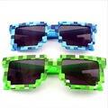 Creeper Mi Mundo Gafas abordarlo Pixel Mujeres Hombres Gafas de Sol Mujer Hombre Mosaico 5 dpi Gafas de Sol Niños Niños novedad