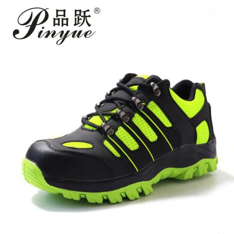 plus size men casual breathable mesh steel toe covers work safety shoes non-slip platform anti-puncture tooling protective boots sheer plus size mesh slip babydoll