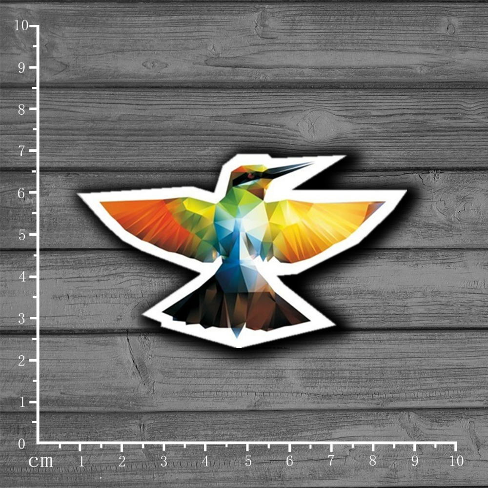 Beautiful Color Stereo Humming Bird Stationery Graffiti Suitcase Kids Sticker Decor For Ablum Scrapbooking Laptop Notebook Sticker[single] Aesthetic Appearance