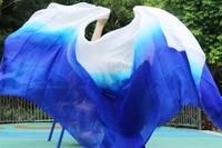 2016 Design 100 Real Silk Belly Dance Veil Cheap Dance Veils Tari Perut Kostum Veil Wholesale