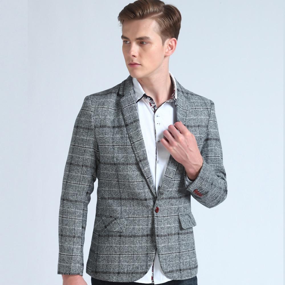 bcdc4849c1927 M-5XL Kürk Yaka Kapşonlu Erkek Kış Ceket 2019 Yeni Moda Sıcak Yün Astar  Erkek