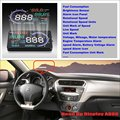 For Citroen Elysee 2015 2016 Car Head Up Display Saft Driving Screen Projector - Refkecting Windshield