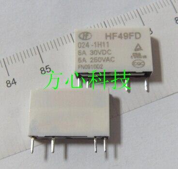 HOT NEW relay HF49FD-024-1H11 HF49F-024-1H1 HF49F 024-1H1 HF49FD 024-1H11-24VDC JZC-49F 024-1H11 24VDC 0241H11 24VDC 24V DIP4