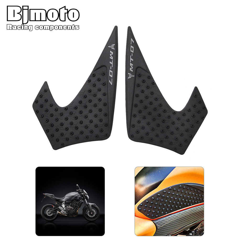 Decals & Stickers Automobiles & Motorcycles Mtimport For Yamaha Mt-07 Mt 07 Mt07 2014-2017 Mt-07 Transparent Anti Slip Fuel Tank Pads Side Gas Knee Grip Traction Pad New