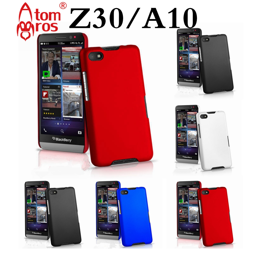 9342fde4dcf AtomBros for BlackBerry Z30 Slim Colorful Rubber Frosted Matte Plastic  Cover Case for BlackBerry Z30/