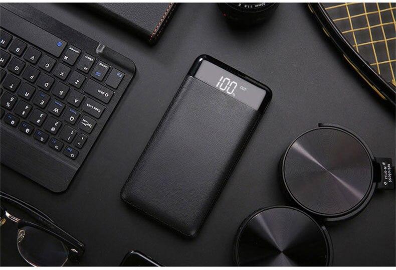 HOT banca di potere 20000 mah caricabatteria esterno portatile USB lampada a led è adatto per la maggior parte dei tipi di telefoni cellulari samsung xi