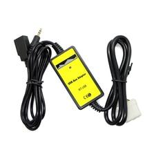 Nueva Caliente Nuevo 3.5mm Aux Cable de Audio Auxiliar Aux USB Adaptador de Coche Reproductor de MP3 Para Mazda 3/CX7/323/MX5 CX-7