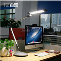 Fashion Silver 13W 110V 220V Dimmable LED Table Lamp Clip Study Learning Light Commercial Touch Dimmer Moden Office Desk Lamp