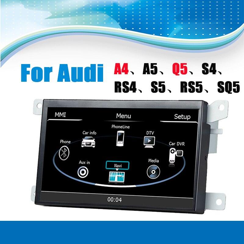 Автомобиль gps навигации Системы автомобиля медиа-стерео Авто Радио авторадио для Audi A ...
