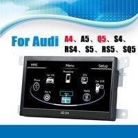 Auto GPS Sistema di Navigazione Multimediale Dell'automobile Stereo Auto Radio Autoradio per Audi A4 A5 Q5 S4 RS4 S5 RS5 SQ5 con Specchio Link