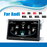 Car GPS Navigation System Car Media Stereo Auto Radio Autoradio for Audi A4 A5 Q5 S4 RS4 S5 RS5 SQ5 Support Mirror Link