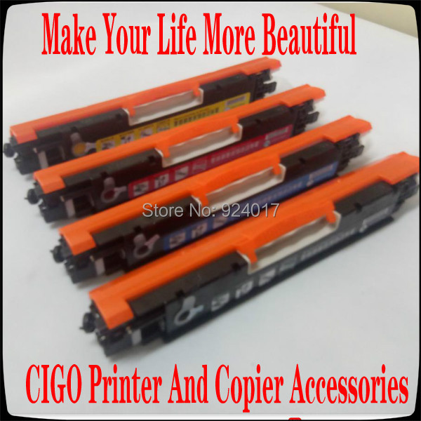 For HP M176 M176n M177 M177f M177fw Color Printer Toner Cartridge,For HP 130A CF350A CF351A CF352A CF353A Refill Toner Cartridge
