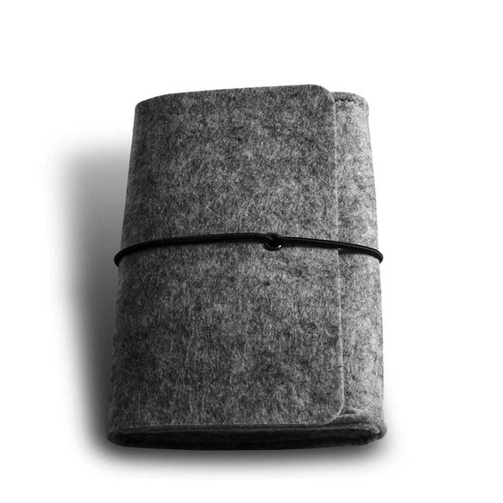 軽量アクセサリー超スリムスリーブカバートラベル収納人工ウールフェルトラップトップバッグソフトミニ化粧ポーチユニセックス