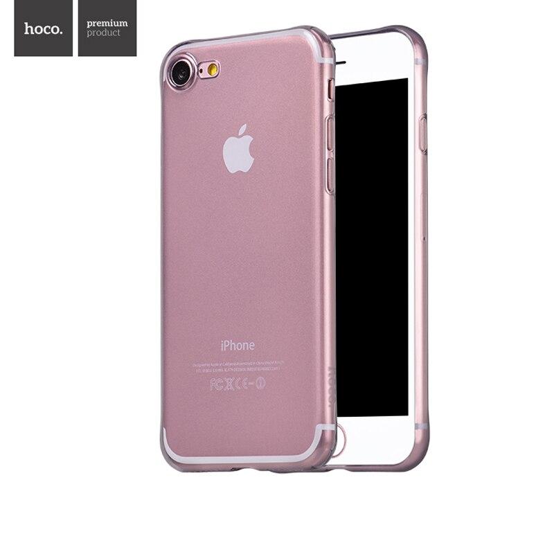 НОСО Высокое качество прозрачные мягкие ТПУ мобильный телефон основа прозрачный защитный чехол для Apple <font><b>iPhone</b></font> 7/8 для 7/8 плюс