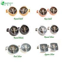 Функциональные Механические мужские запонки для часов lepton