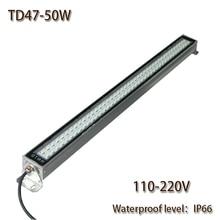HNTD 50 Вт AC 110 V-220 V TD47 светодиодный металлический свет работы ЧПУ MachineWork инструменты освещения Водонепроницаемый IP67 светодиодный Панель Свет Горячая Распродажа
