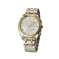 Business Mens Watches Top Luxury Brand Watch Men Quartz Wristwatch Relogios Masculinos Gold Silver Gift