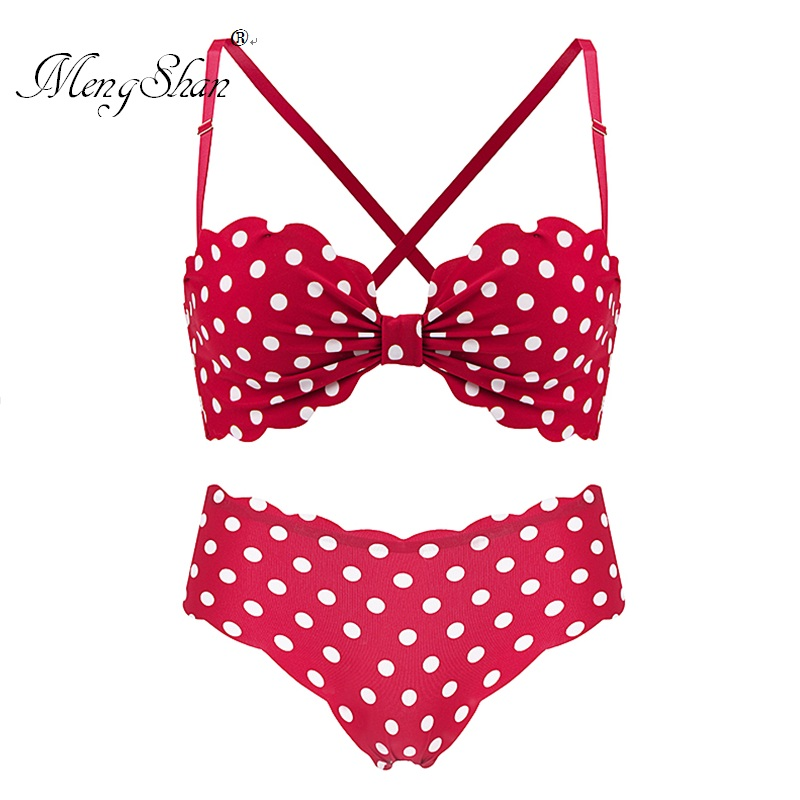 bras for women Beautiful Back with Butterfly Knot Half cup bra suit New Wavepoint Design bra set Sexy and comfortable gathering in Bra Brief Sets from Underwear Sleepwears