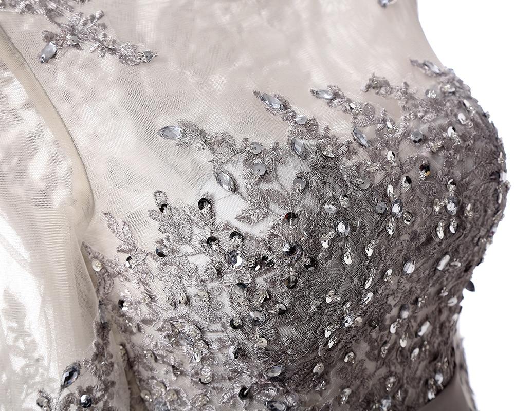 Robes de bal 2019 mode manches longues robes de soirée formelles élégante longue robe de bal - 5