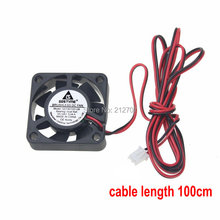 1 Piece Gdstime 4010 40MM 40x40x10MM 24V 2Pin Ball Bearing DC Cooler Small Cooling Fan FOR 3D PRINTER PART