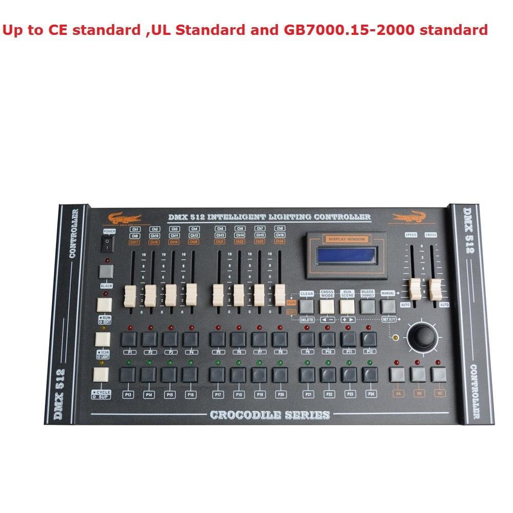 2019 livraison gratuite CROCODILE 2024 DMX Console, vente chaude stade lumière contrôleur DMX Disco Club/équipement Audio professionnel