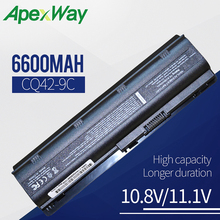 Buy 9cells 6600mah battery for HP Pavilion DM4 DV3 G32 G42 G62 G56 G72 for COMPAQ Presario CQ32 CQ42 CQ56 CQ62 CQ630 CQ72 directly from merchant!