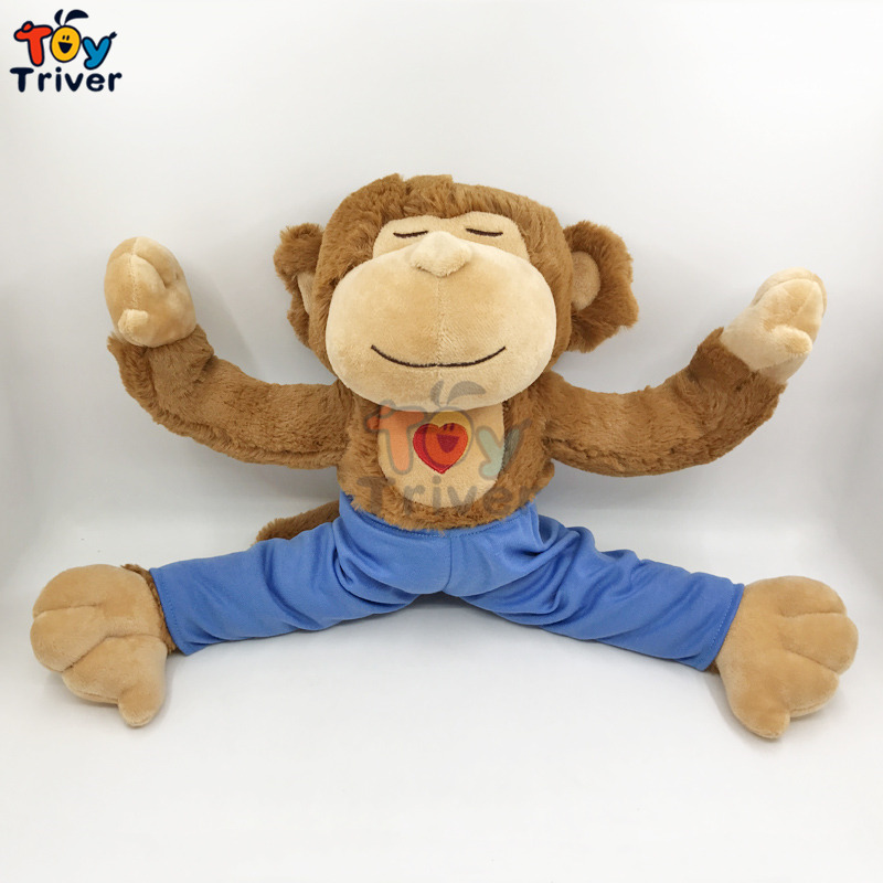 Aliexpress Com Buy Home Utility Gift Birthday Gift Girlfriend Gifts Diy From Reliable Gift Diy: Aliexpress.com : Buy Hot 45cm Plush Yoga Monkey Toy
