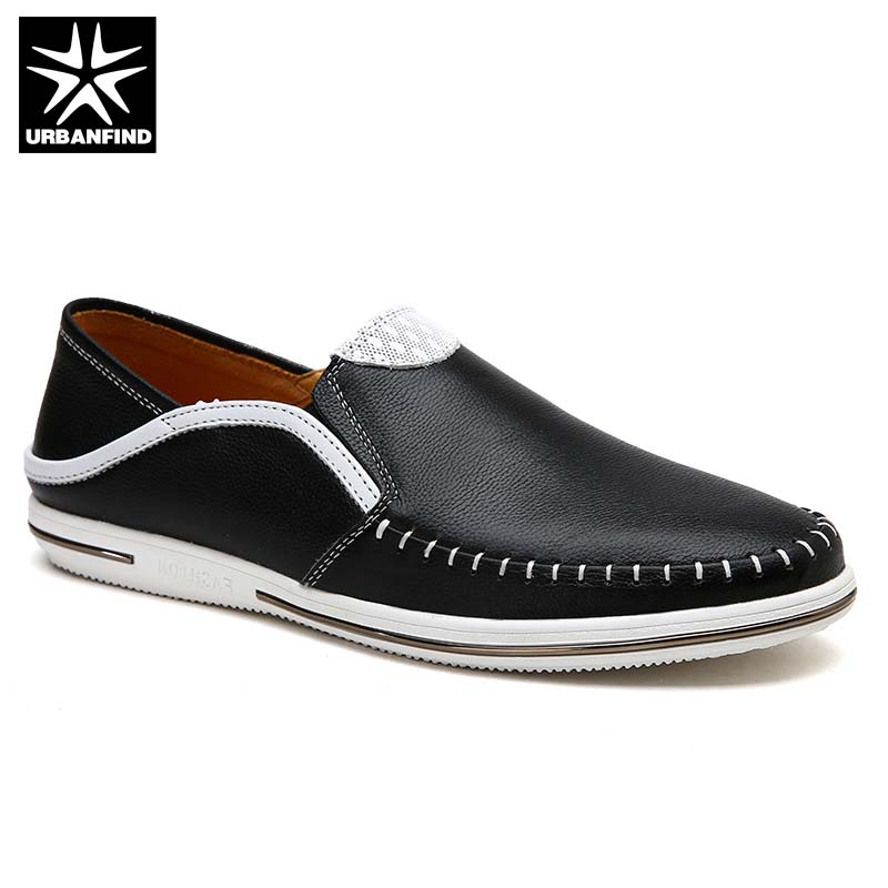 Genuine Leather Men Loafers Driving Shoes Size 38-44 Sewing Design Male Casual Slip-on Moccasins Handmade Footwear dekabr new 2018 men cow suede loafers spring autumn genuine leather driving moccasins slip on men casual shoes big size 38 46
