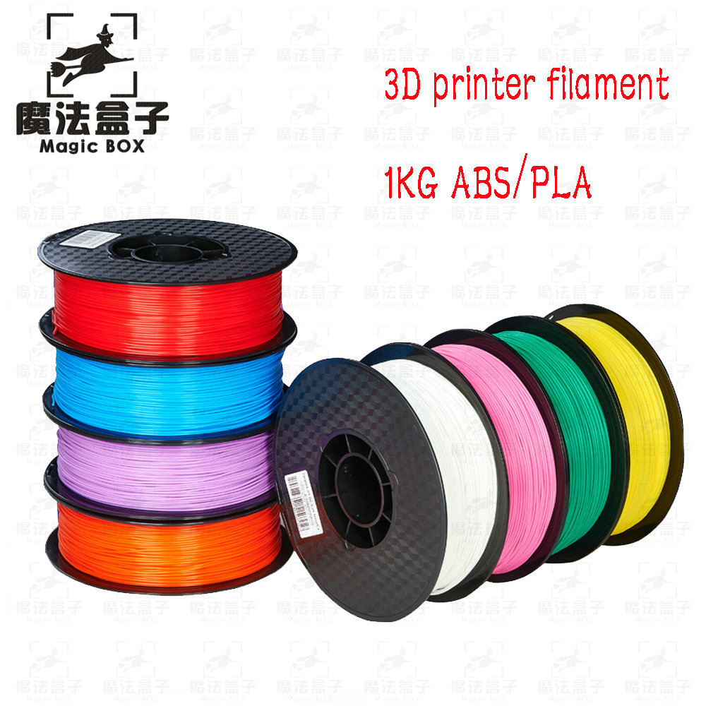 3D printer filament PLA/ABS filament 1.75 Multi-colors 1kg plastic spools filament 1.75 3D printer filament impressora high quality pinrui 3d hips filament 1 75mm 1kg 3d printer filament 1 kg hips 3d plastic filament low cost less odor than abs
