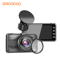 ZEROGOGO Dashcam Full HD 1920x1080 Car DVR with GPS Logger Video Recorder 3.0 Inch IPS Display Dash Cam Super Night Vision F1.8