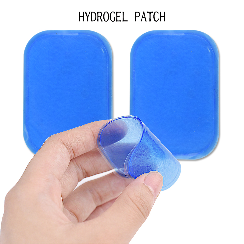 10Pcs Self-adhesive Hydrogel Sticker Patch Electrode Gel Pads for EMS Muscle Stimulator ABS Trainer Physiotherapy Body Massager 50pairs lot emergency supplies ecg defibrillation electrode patch prompt aed defibrillator trainer accessories not for clinical