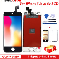 OEM quality LCD Display For iPhone 5 5s SE 5C Touch screen Assembly Replacement with Original Digitizer LCD pantalla Table Panel