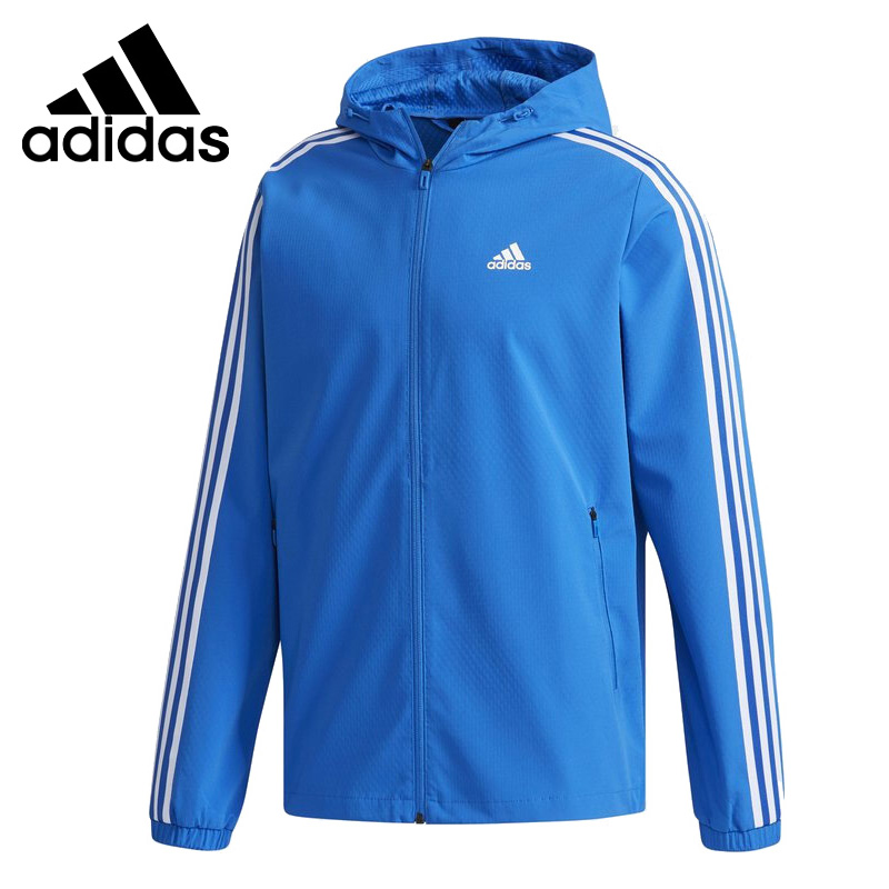 Original New Arrival 2018 Adidas Performance WB MESH BOND 3S Men's jacket Hooded Sportswear брюки спортивные adidas performance adidas performance ad094ewuog01