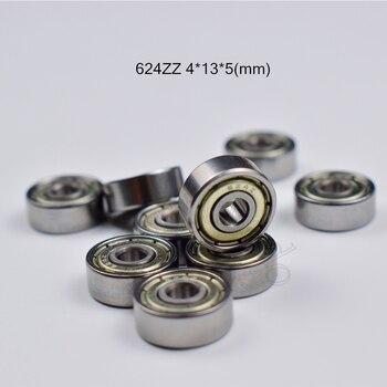 624ZZ  4*13*5(mm) 10pieces bearing Metal sealed  free shipping  ABEC-5 chrome steel bearings hardware Transmission Parts круизер ridex california цвет бирюзовый 68 5 х 20 см abec seven chrome