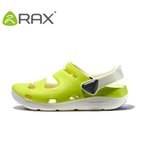 Rax Men Clogs Beach Slippers Summer For Women Garden Shoes Mule Clogs Candy Color Adult Clogs
