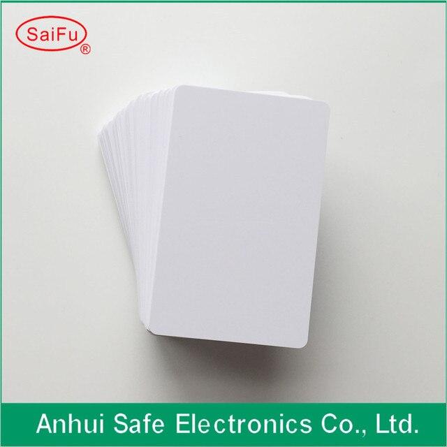 Bonne qualité jet dencre PVC carte brillant deux côtés imprimable carte PVC vierge pour Epson ou Canon 230 pièces/lot